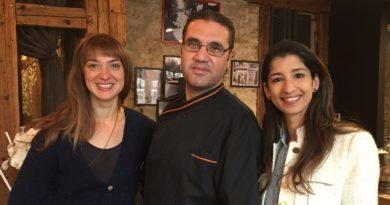 Hélène Berrier, Hussam Khodary et Amani Friaa (Photo EB - Les Défricheurs)