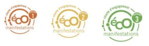 Le niveau 1 du label Ecomanifestations s'obtient à partir de 40 engagements validés, 55 engagements pour le niveau 2, et 75 ou plus pour le niveau 3. (Capture d'écran)